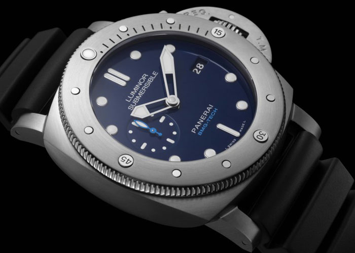 Часы Officine Panerai Submersible 1950 BMG-tech